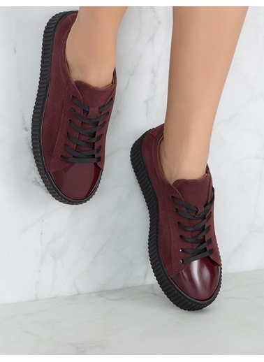 Mecrea Sneakers Bordo